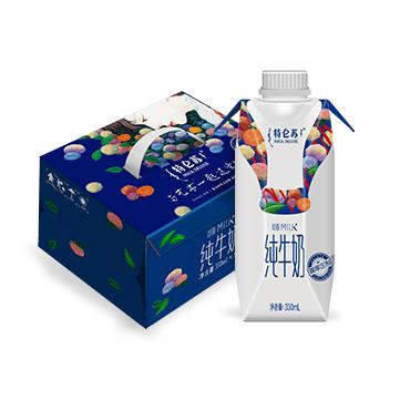 特仑苏嗨Milk纯牛奶艺术版(Miss图)